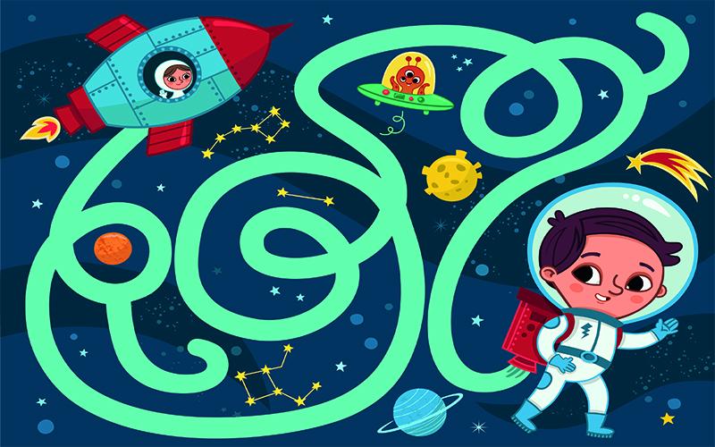 بازی-ماز-پسر-فضائی