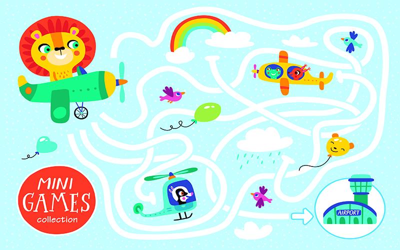 بازی-ماز-کوچولوهای-پرنده