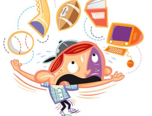 استرس کودک و راهکارهای کنترل آن