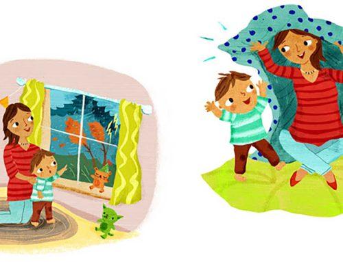 4 سرگرمی و بازی کودکانه برای یک روز بارانی