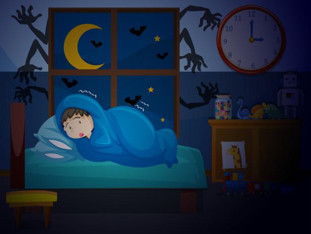 ترس-کودکان-از-شب