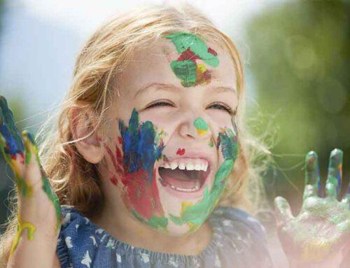آموزش رنگ ها به کودکان با بازیهای مختلف